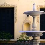 Fuente patio español