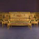 Muebles sala francesa