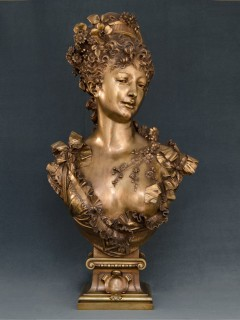 Escultura sala francesa