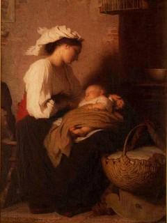 Maternidad (Antoine Auguste Ernest Hébert)