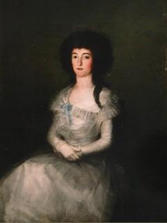 Retrato de María Teresa Ruiz Apodaca de Sesma (Francisco José de Goya)