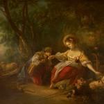 Pinturas sala francesa